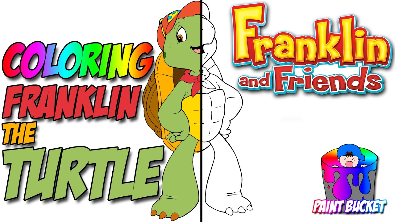 Franklin the Turtle Coloring Pages - Nickelodeon Nick Jr. Coloring ...