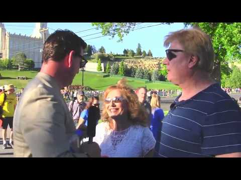 """Real Conversation with a Mormon Couple in Manti. The Woman Pleads, """"Please Come Back""""!"""