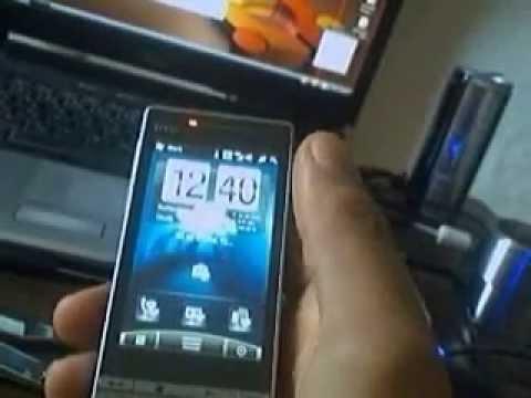 Htc Touch Diamond 2 SPB Mobile Shel Sense Hero Theme