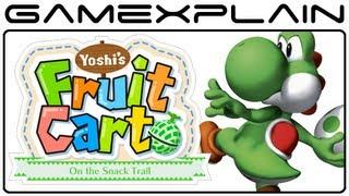 Nintendo Land: Yoshi's Fruit Cart Gameplay Footage w/ Audio (Wii U)