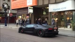 Lamborghini Egzos Sesi Kızları Korkutuyor