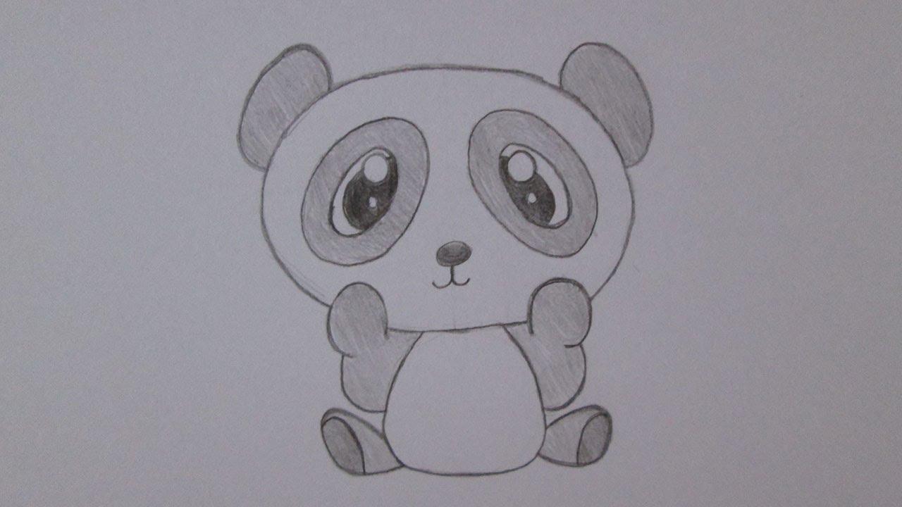 Cómo Dibujar Un Oso Panda Youtube