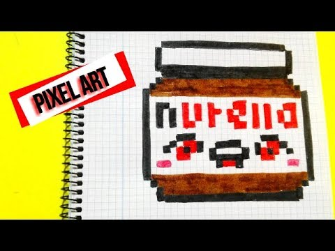 Draw Handmade Pixel Art Como Dibujar A La Nutella