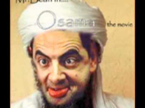 staring contest with mr. osama bean laden