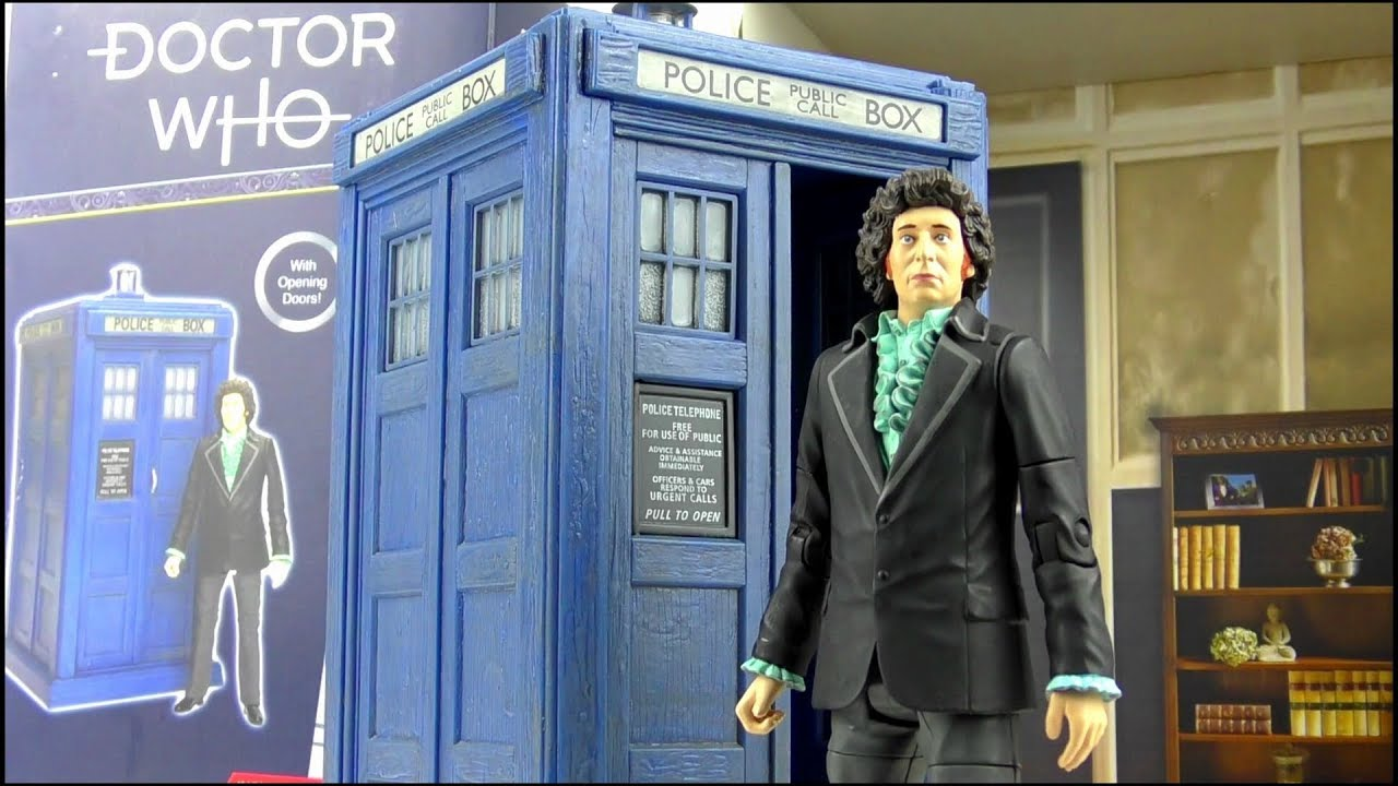 Doctor Who 4th Doctor Regenerated  U0026 Tardis B U0026m Collector Set Review