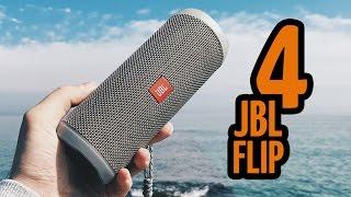 Обзор JBL Flip 4. Лучшая портативная акустика?