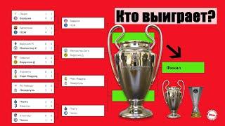Букмекеры рассказали кто выиграет Лигу Чемпионов и Лигу Европы Расписание