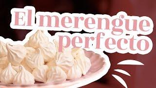 la mejor receta para un merengue perfecto receta de merenguitos o suspiros