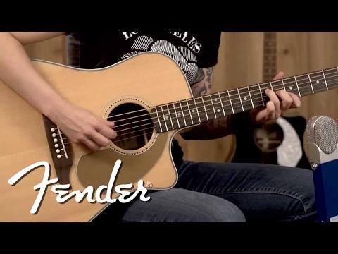 Fender Sonoran SCE Wildwood IV Demo   Fender
