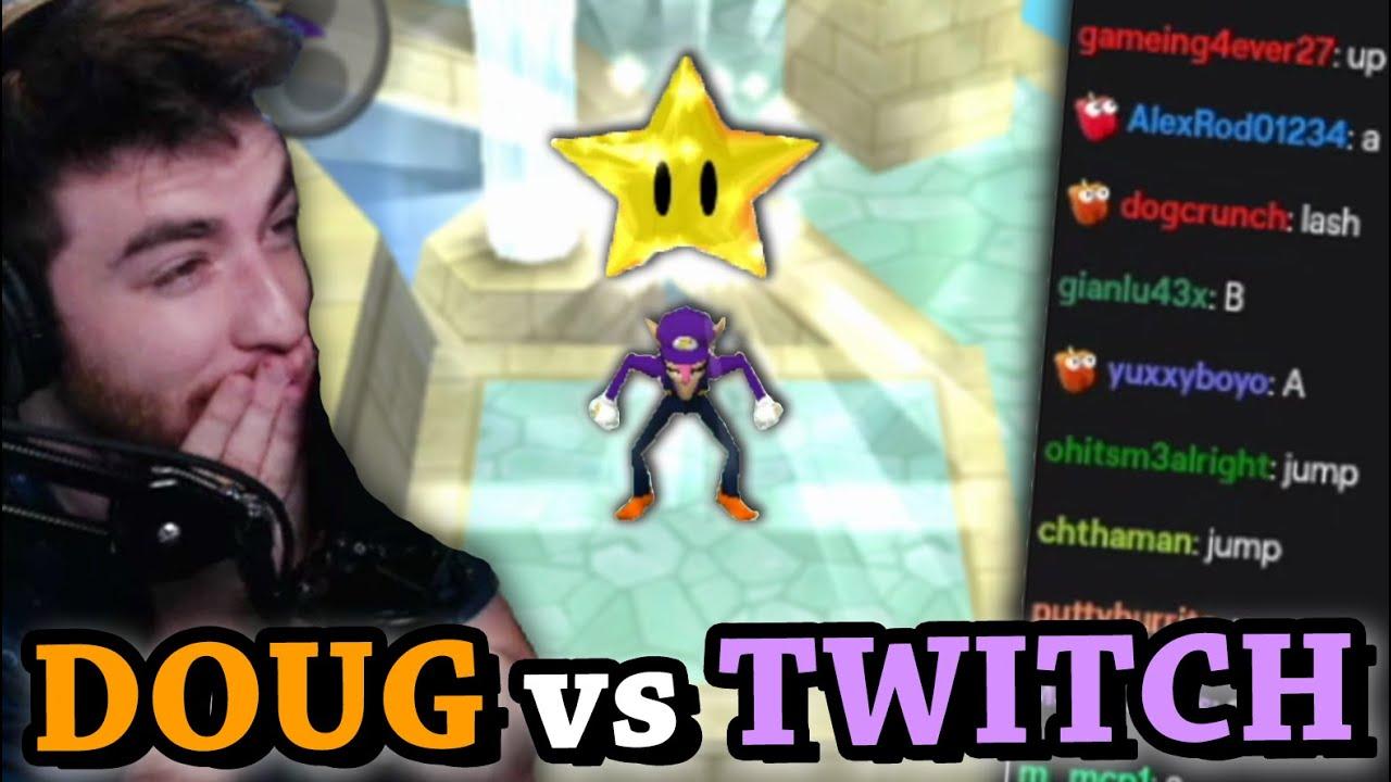 MARIO PARTY - DougDoug vs Twitch Chat