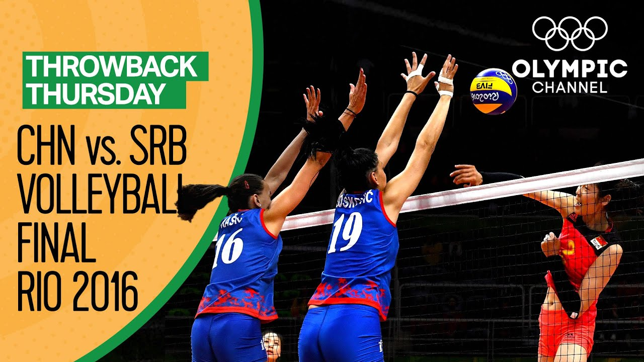 Women S Volleyball Final China Vs Serbia Rio 2016 Rep Women Volleybox Net
