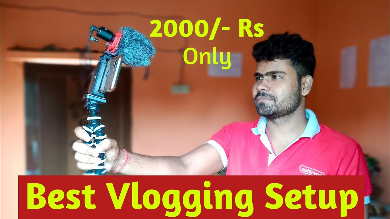 Download Best And Cheap Mobile Vlogging Setup For Begginers। Tech D2
