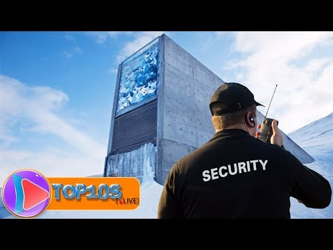 10 Highly Guarded Places on Earth || TOP10slive