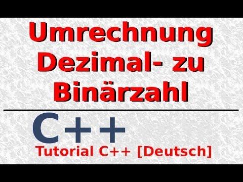 cfd instrument c programm umwandlung binär in dezimal