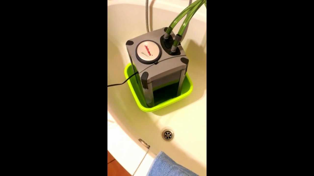 Jebao aquarium external fish tank filter review - Jebao 304 Canister Filter Test Run