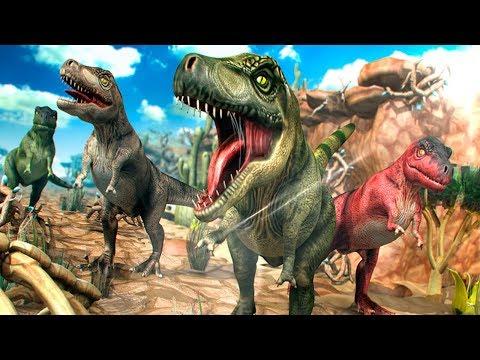 Dinosaurios para Niños - Carrera Jurasica - Dibujos y Juegos Infantiles de Dinosaurios