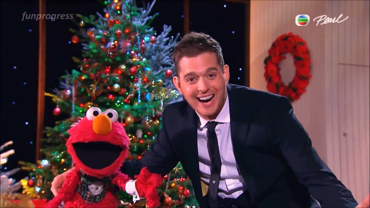 All I Want for Christmas Is My Two Front Teeth - Elmo & Michael ...