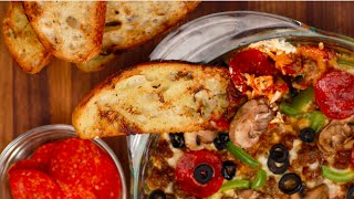 Pizza Dip Recipe For The Super Bowl | Eat The Trend