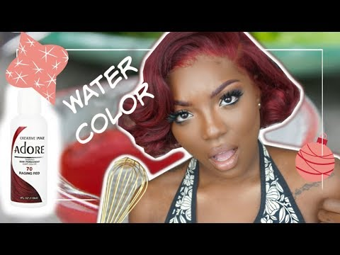 Vlogmas Day #2: Coloring hair in Five minutes FAIL?!!