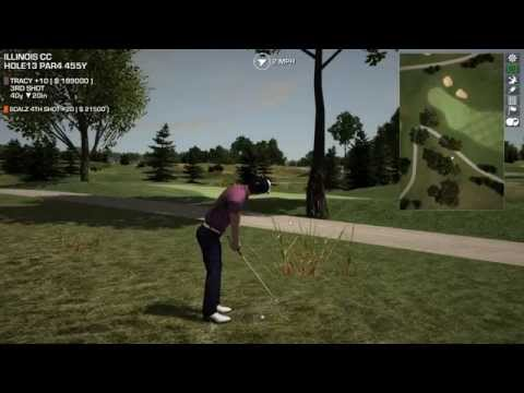 Perfect Golf Playthrough Part 4: Illinois CC with Tracy