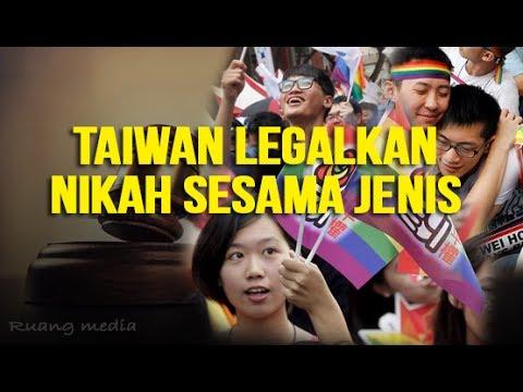Taiwan Negara Pertama  di Asia yang Legalkan Pernikahan Sesama Jenis (LGBT)