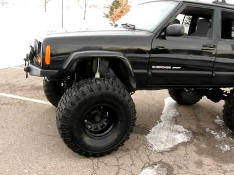 Captivating 2000 Jeep Cherokee Sport With Lift Kit. S4081
