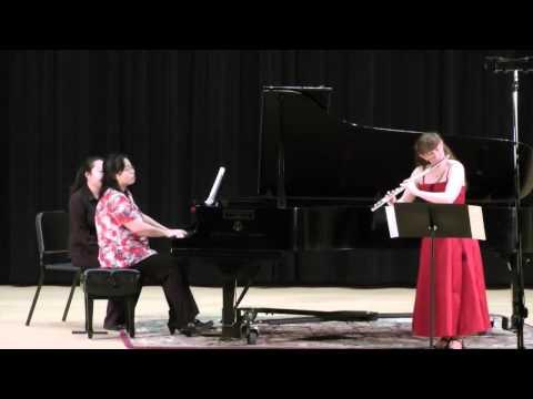 Sonata No. 1 in E minor; François Devienne; 1. Allegro