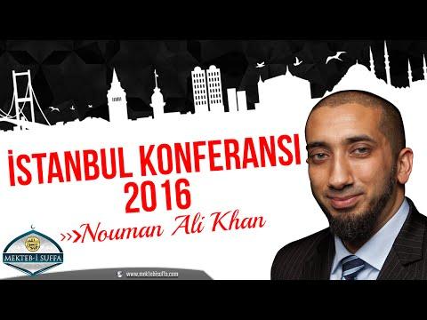 Nouman Ali Khan İstanbul Konferansı 2016 [Türkçe Altyazılı | Mekteb-i Suffa]