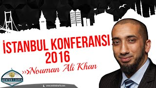 Nouman Ali Khan İstanbul Konferansı 2016 [Türkçe Altyazılı]