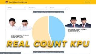 live streaming data terbaru real count kpu senin 22 april 2019