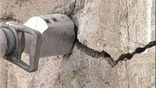 DARDA hydraulic Rock and Concrete Splitters in action