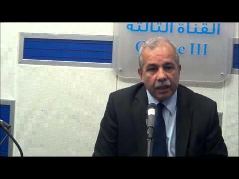 Le directeur général du Domaine national, Mohamed Himour invité de la chaine3