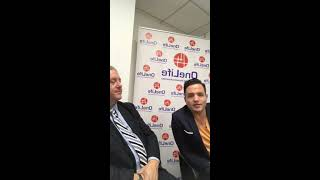 OneCoiners Florian Andris, Chris Principe -