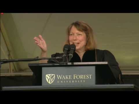 Jill Abramson to Wake Forest Grads: Get On With Your Knitting (Full ...