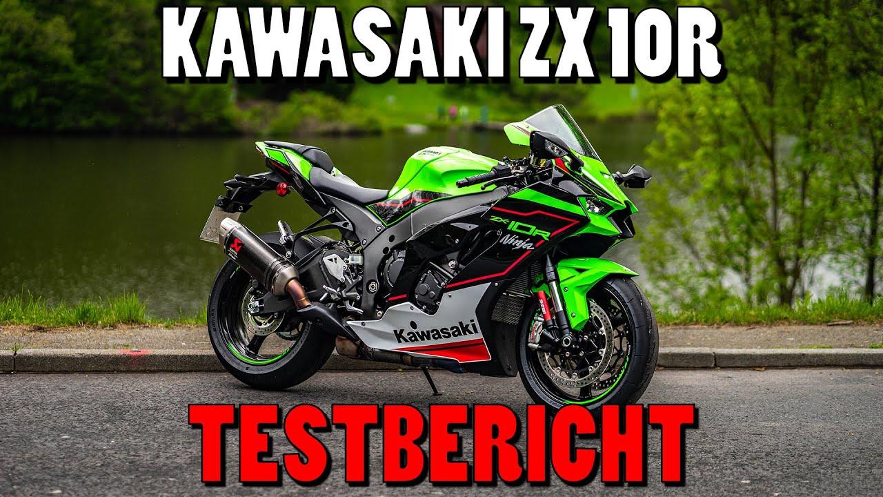 Kawasaki ZX10R TEST 2021