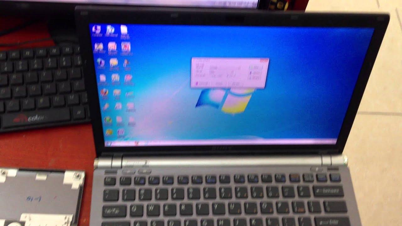 Thay bàn phím Laptop Sony Vaio VGN- Z540