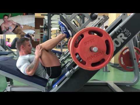 Тренировка ягодиц + ноги (задняя часть бедра) .Сушка тела