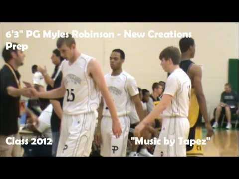Myles Robinson Highlights - Christian Life Center Academy Prep (Humble,TX) - Class 2012