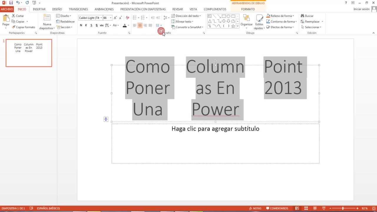 formatos para power point