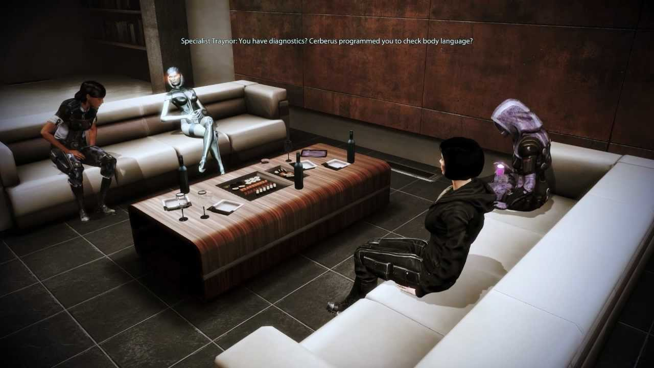 mass effect 3 citadel dlc edi and traynor 39 s awkward. Black Bedroom Furniture Sets. Home Design Ideas
