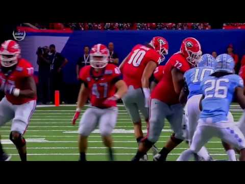 Highlights: Georgia vs North Carolina 2016