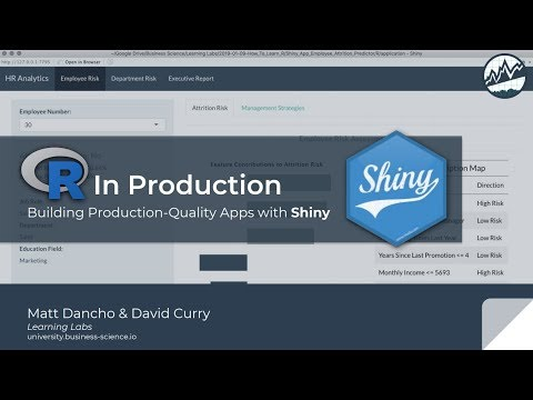 R in Production with Shiny | Learning Lab