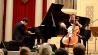 видео Как Денис Мацуев выступил с сольным концертом в Филармонии-2