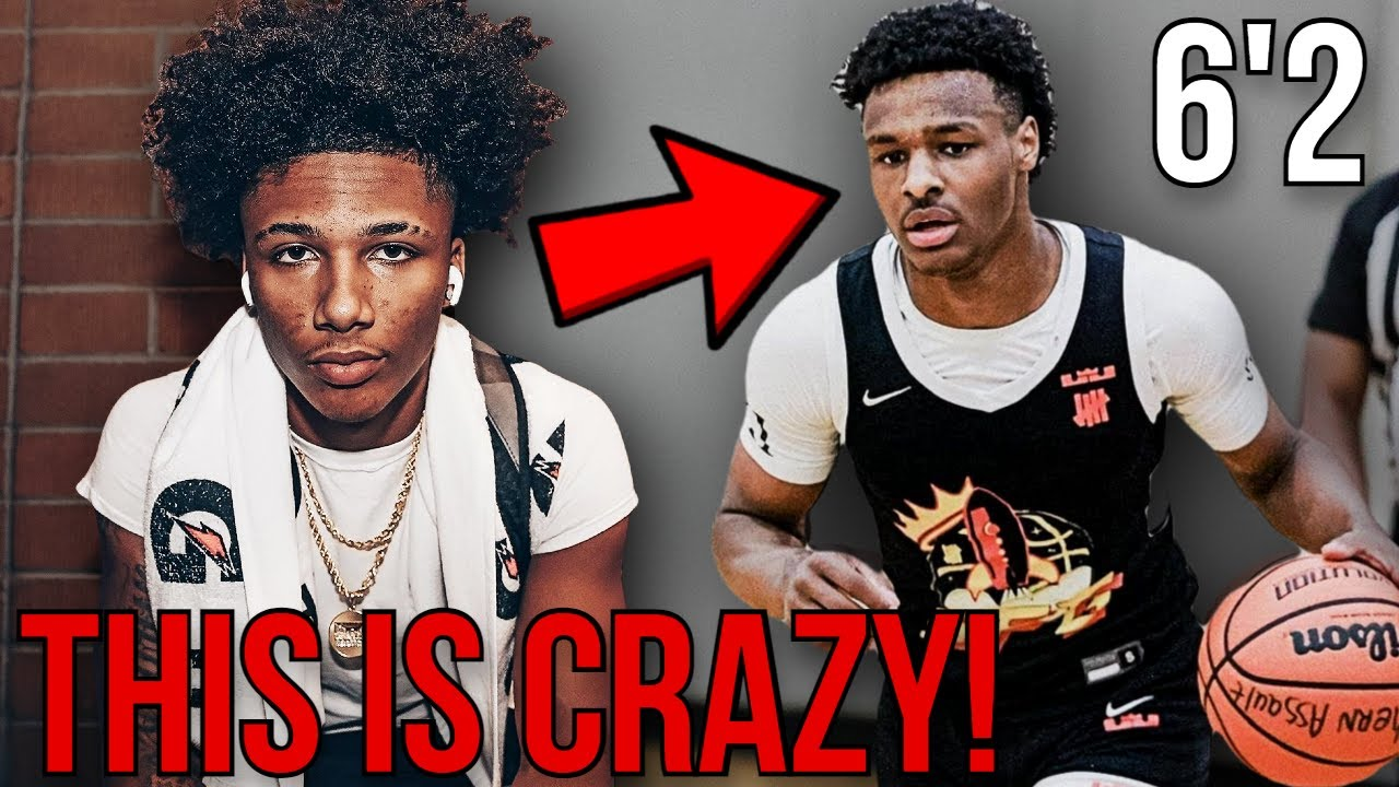Download NOBODY is Noticing THIS about Mikey Williams & Bronny James