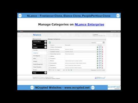 NLance - Freelancer Clone | Elance Clone | PeoplePerHour Clone | Guru Clone | Freelance Script