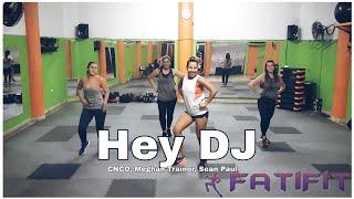 CNCO, Meghan Trainor, Sean Paul - Hey DJ // Coreografía Fatifit