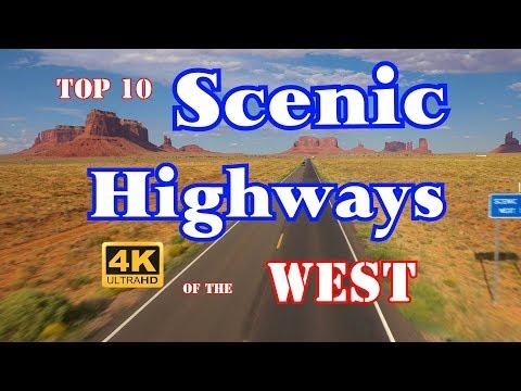 10 Best Scenic HIghways In Western US