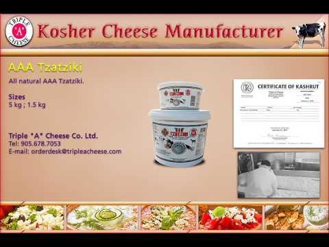 Kosher   AAA Tzatziki   Cheese Manufacturer In Toronto, Canada   Triple A Cheese.com
