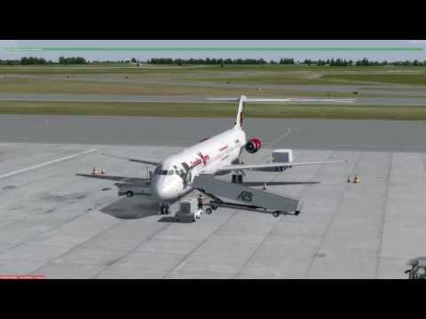 P3D v3.2 McDonnell Douglas DC-9-50 Hamilton (CYHM) to Montréal (CYUL)