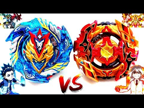 BOOM: Cho-Z Valkyrie Z.Ev VS Cho-Z Spriggan 0W.Zt' -Valt vs Shu- Final Beyblade Burst Turbo Battle!